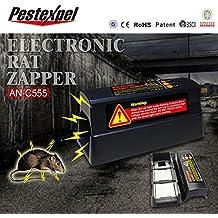 electrónica rata ratón roedor asesino zapper trampa del parásito control de la potencia de la batería