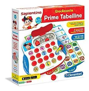 Clementoni 13399 - Sapientino GiocAssocia Prime Tabelline