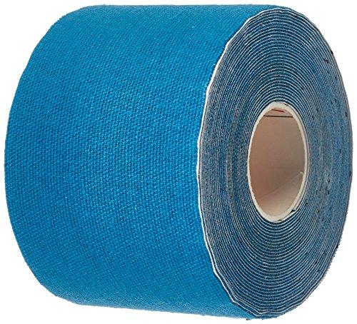 3 rollos Kinesiología tape 5 m x 5,0 cm Kinesiología tape en varias colores, Color:azul oscuro