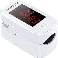IDOIT 3 IN 1 Saturimetro Professionale Pulsossimetro da dito con Letture Immediate Ossimetro per Saturazione di Ossigeno…