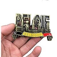 Ximai Dubai Métal Aimants Frigo Magnet Aimant de Réfrigérateur Tourisme Voyage #Belgique