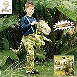 Travis Ride on dinosaurio luz y sonido traje-edad 3-5 años...