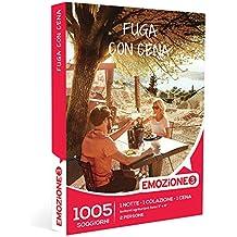Emozione3 - Cofanetto Regalo - FUGA CON CENA - 1005 gustosi soggiorni in agriturismi selezionati e hotel 3 e 4 stelle