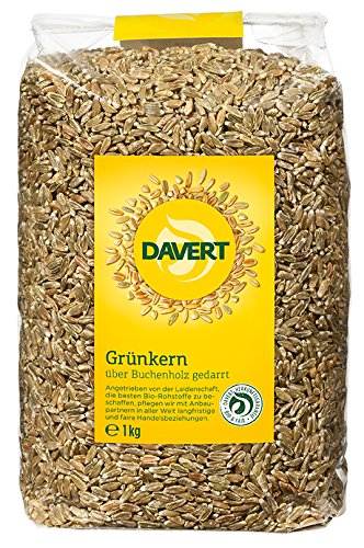Davert Grünkern, 1er Pack (1 x 1 kg) - Bio