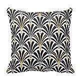 \n \n \n \n \n Generic Art Deco fan pattern black and d'occasion  Livré partout en Belgique