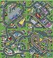 Spielteppich Stadt 140 x 160 cm Straßenteppich von Leomark