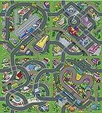 Leomark Spielteppich City Stadt 140