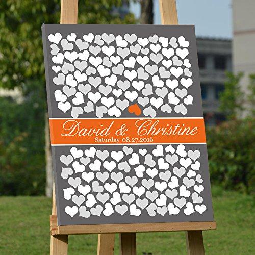 Hochzeit Gästebuch Alternative Baum Hochzeit Welcome Schild Leinwandbild Gästebuch Hochzeit für den Zubehör Geburtstag Geschenk Andenken