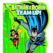 Batman and Robin Team Up! (DC Board Books) (DC Comics Classics Library)