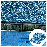 Chihen Rete Mimetica Ocean Campeggio Campo Militare Caccia Tiro Protezione Solare Reti Nascondi Decorazione del Partito Tende Rete Ombreggiante (Color : A, Size : 8x10m)