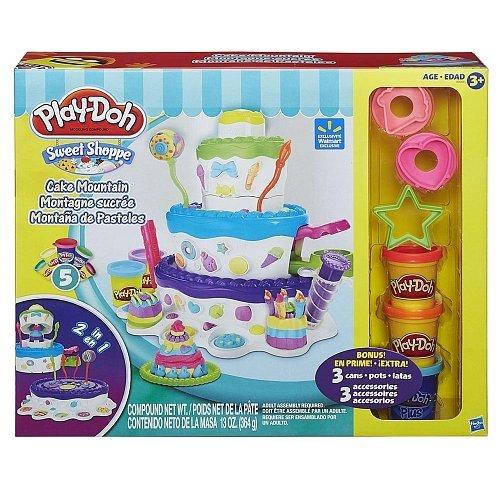 Play-Doh 2-in1-Sweet Shoppe Kuchen Berg Spielset (Shoppe Sweet Play-doh)