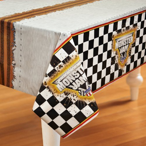 Monster Jam Party Supplies - Plastic Table Cover