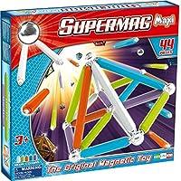 Supermag maxi e il gioco di costruzioni magnetico per eccellenza, composto da barrette magnetiche e sfere dacciaio.Le barrette hanno misure differenti rendendo il prodotto unico nel suo genere con Supermag Maxi si ha infatti la possibilita di creare ...