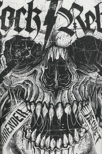 Rock Rebel by EMP From The Grave T-Shirt altweiß altweiß