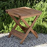 Plant Theatre Adirondack Folding Hardwood Table - Superb Quality