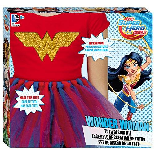 DC Superhero Girls Wonder Woman Tutu Design Kit by DC Super Hero Girls (Tutus Wonder Woman)