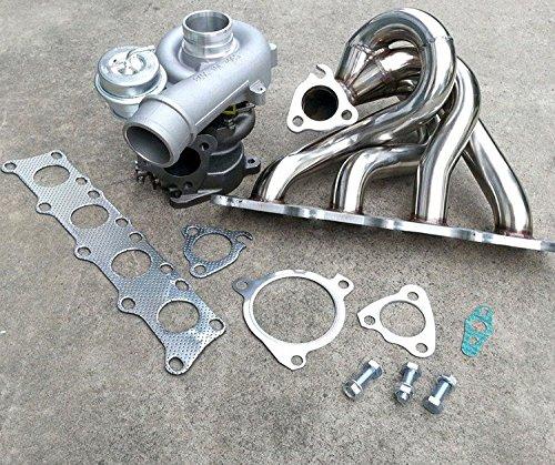 Gowe Turbocompresor para Turbo Colector de escape Perno En el Turbocompresor para Audi TT S3210225BHP Quattro Acero Inoxidable