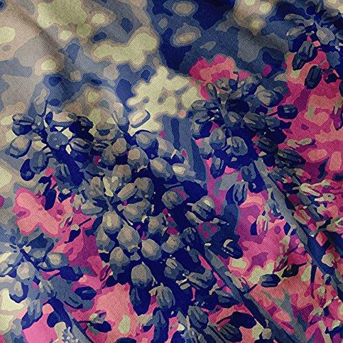 Sommer Felder Für immer Wild Blühen Damen S-2XL Muskelshirt   Wellcoda Grau