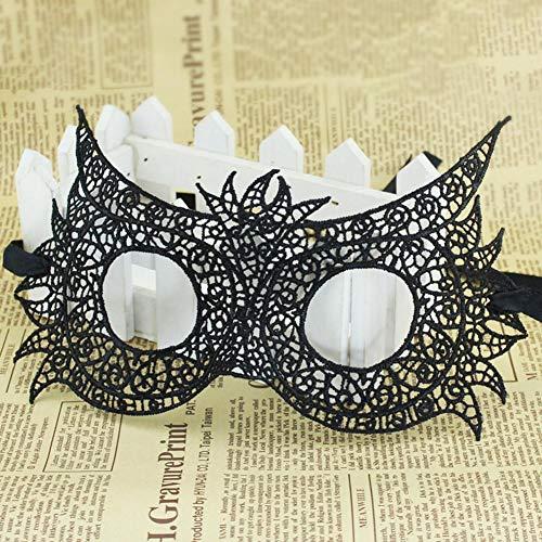 Masquerade Maske Damen Maskenspiel Frauen Lace Sexy Augenmaske Venetian Gesichtsmaske Karneval Maskerade für Hallween Weihnachten Party