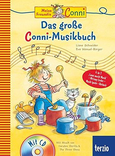 Conni Musicalbuch: Das große Conni-Musikbuch (mit CD)