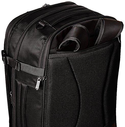 AmazonBasics 46 Ltrs Carry-On Travel Backpack, Black Image 7