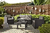 "Allibert Rattan Lounge Sofa ""Victoria"" 2-Sitzer - 4"