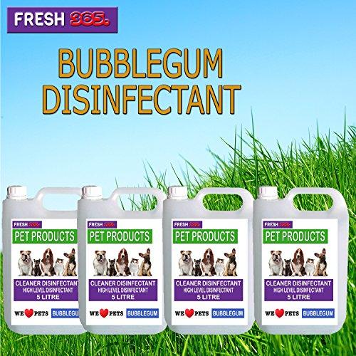 4-x5-litres-bubble-gum-fragrance-pet-kennel-disinfectant-deodoriser