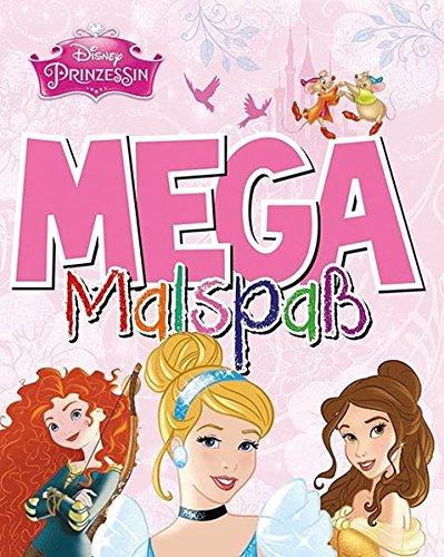 Disney Prinzessin - Mega Malspaß
