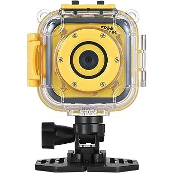 Andoer Action Camera per Bambini Impermeabile Videocamera digitale 720P Schermo LCD da 1.77 pollici Regalo di festa