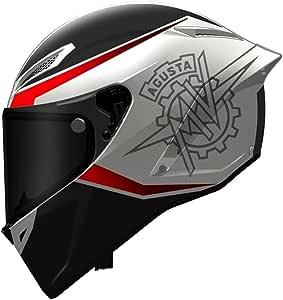 Mv Agusta Agv Corsa Black Multi White Red Helmet Size M L Helmet New From Bikerworld Auto