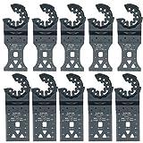 TopsTools STLKAB10 35 mm HSS-Bimetall-Klingen für Bosch, Fein, Starlock Plus Max AutoClick, Multifunktionswerkzeug-Zubehör, 10 Stück
