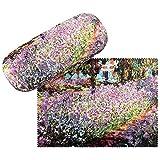 VON LILIENFELD Brillenetui Hardcase Box Kunst Motiv Claude Monet: Garten