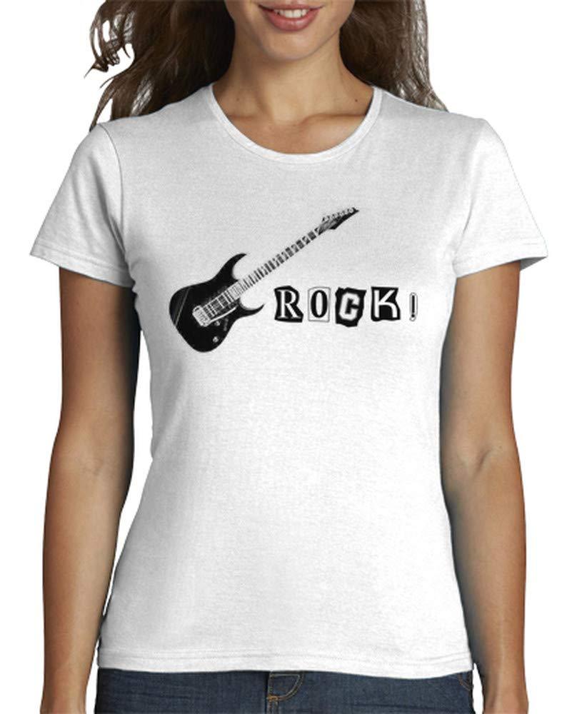 T Shirt rock femme manches courtes - Tostadora