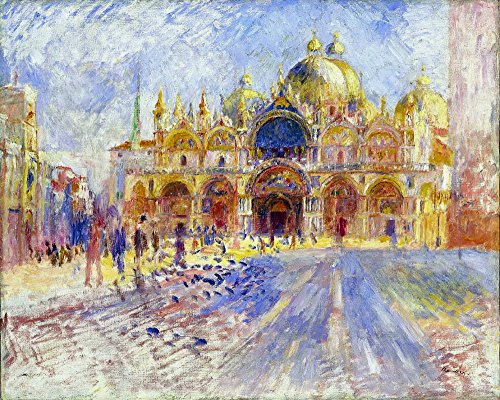 Das Museum Outlet-Die Piazza San Marco, Venice, 1881-Poster Print Online kaufen (76,2x 101,6cm)
