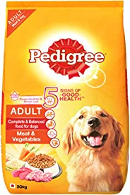 Pedigree Adult Dry Dog Food, Meat & Vegetables, 20kg Pack