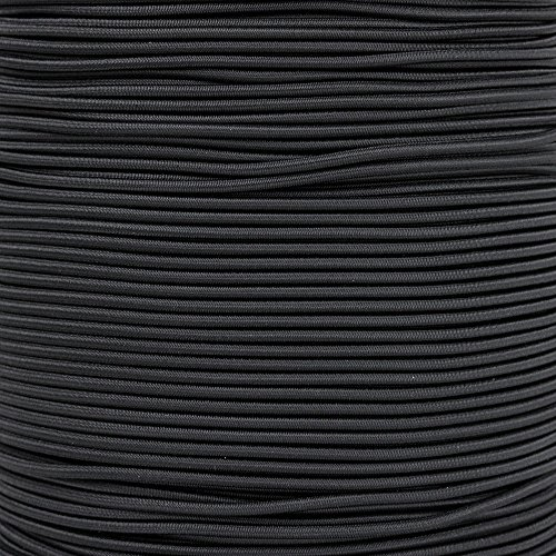 Paracord Planet 2.5mm Shock Cord - 8 Colors - 10, 25, 50, 100 Feet - Nylon Bungee Elastic Stretch Cord -
