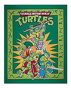 Teenage Mutant Ninja Turtles Retro Panel Green - LARGE 36'' x 44''