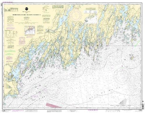 13288--Monhegan Island to Cape Elizabeth by NOAA (Cape Oceangrafix)