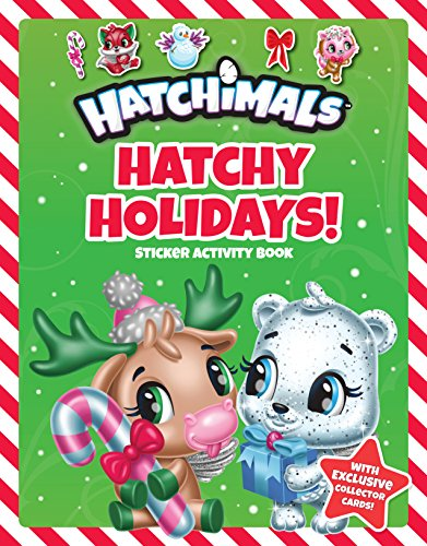 Hatchy Holidays !: Sticker Activity Book (Hatchimals)