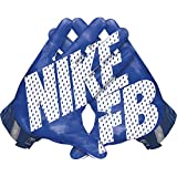 Nike Vapor Jet 3.0 American Football Handschuhe Receiver - Game Royal/Gym Blue/Black/White (X-Large)