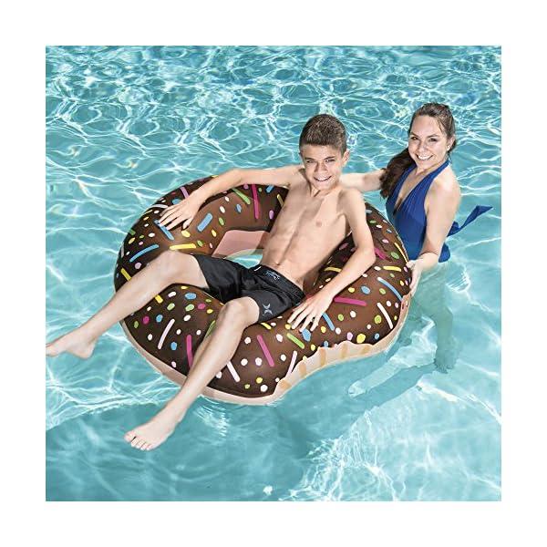 Bestway Dmail – Maxi ciambella salvagente gonfiabile – Donut 61CkvSzW4CL