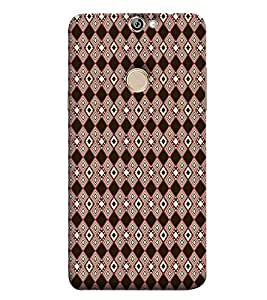 PrintVisa Designer Back Case Cover for Coolpad Max A8 (Girly Pattern Tribal Floral Fabric Culture Rajastan Andhra)