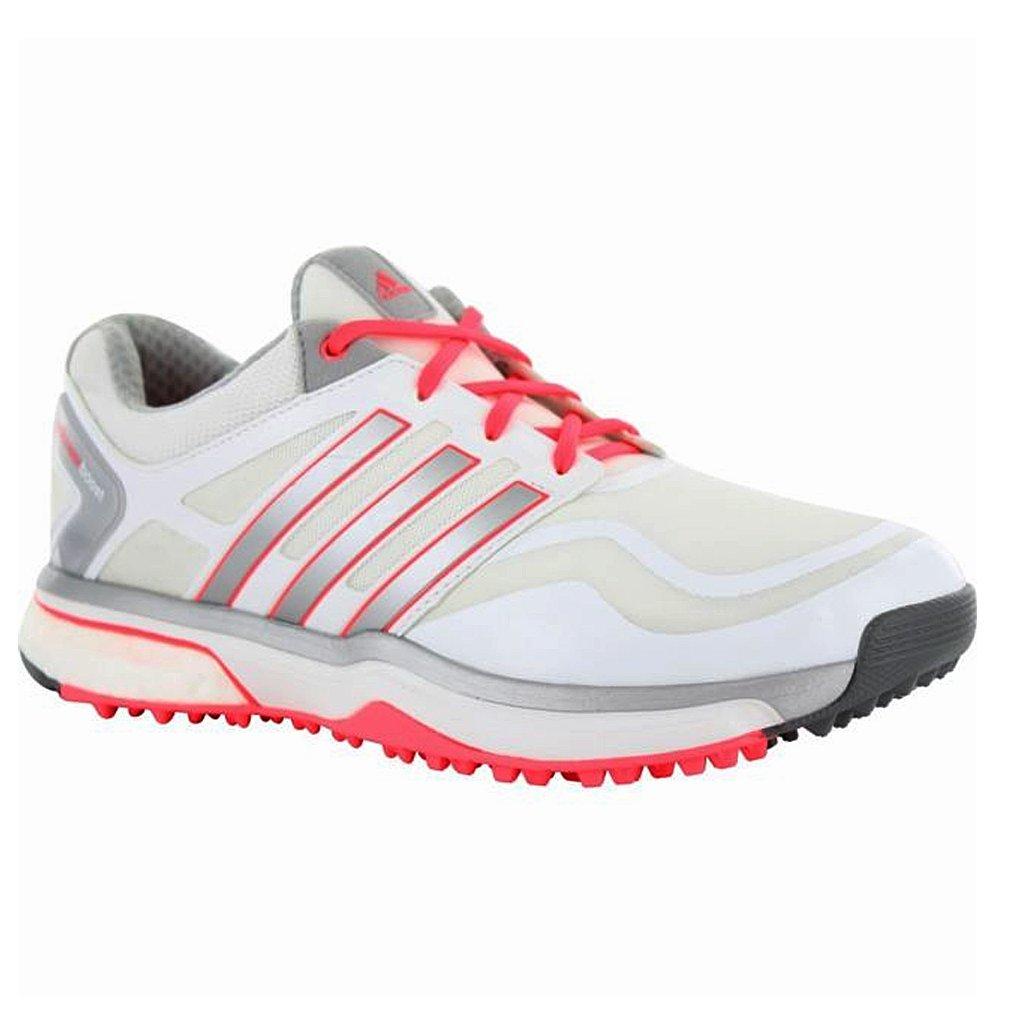 Adidas Stella McCartney Barricade 2015: adidas Women's Tennis Shoes WhiteAmber Yellow 113420 from Holabird Sports | ShapeShop