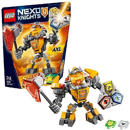 Nexo Knights - Axl con armadura de combate (LEGO 70365)