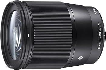 Sigma 16mm F1,4 DC DN Contemporary Objektiv (67mm Filtergewinde) für Sony-E Objektivbajonett