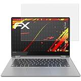 atFolix Folie für Lenovo Yoga 530 (14 inch) Displayschutzfolie - 2 x FX-Antireflex-HD hochauflösende entspiegelnde Schutzfolie