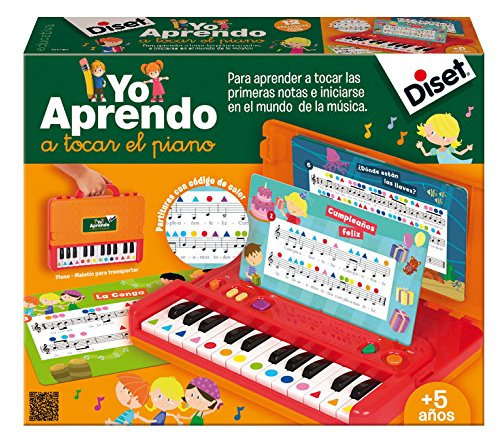 Diset-Yo Yo aprendo a Tocar el Piano (63745)