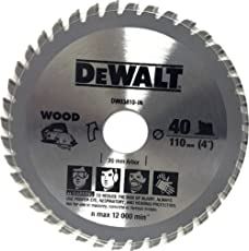 Dewalt 4-inches Tct Blade 40t