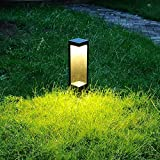 Luce A LED Per Esterni Luce A LED In Alluminio Nero Luce Per Esterni Luci Da Patio Lampada A Montante Per Luce IP65 Impermeabile Per Esterni Porta Da Giardino Illuminazione Per Esterni