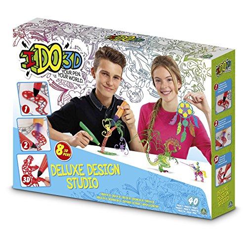 Giochi Preziosi 55207 Ido 3D - Set 8 bolígrafos 3D con accesorios